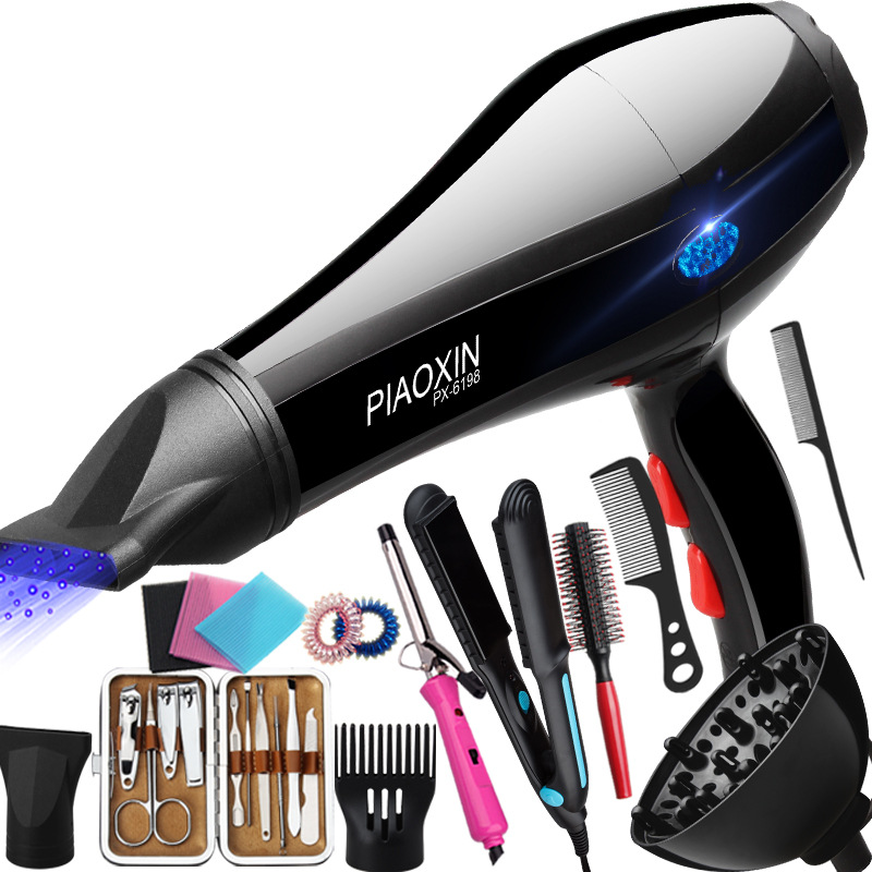 High-power hot and cold air hair dryer h...