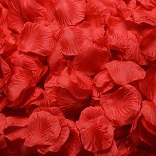 仿真花瓣 玫瑰花瓣 生日派對 求婚婚禮婚房裝飾 婚慶布置用品