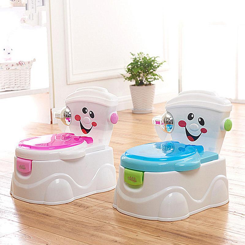 宝宝仿真笑脸坐便器婴儿马桶圈垫儿童多功能靠背座便凳便盆批发