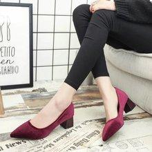 Giày cao gót nữ thời trang, thiết kế mới nữ tính, phong cách Hàn