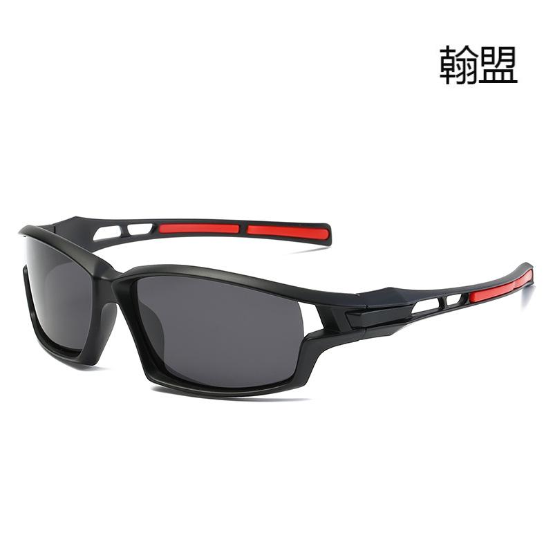 新款运动骑行眼镜 户外防紫外线偏光太阳镜9308