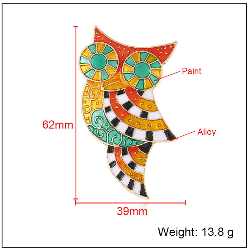 Fashion Alloy plating brooch Animal (KC alloy color)  NHKQ1390-KC alloy color