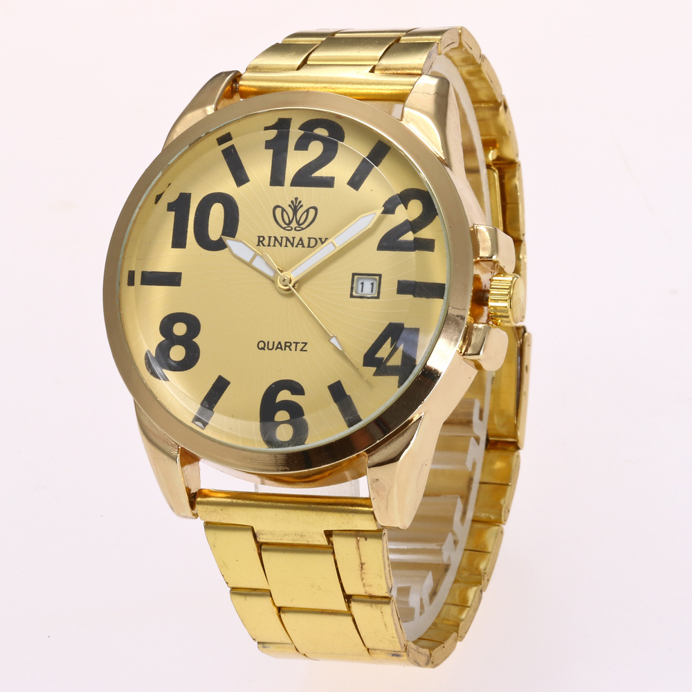 fashion male watches (Gold)NHHK0885-Gold