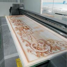 整屋装修快装集成墙板UV打印机 赢彩瓷砖浮雕背景墙UV平板打印机