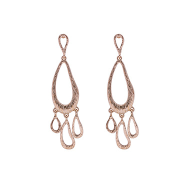 Occident and the United States alloy plating earring (white)NHBJ0295-white