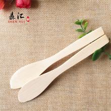 包水饺子刀片木质刮片馄饨搅拌馅勺面膜棒泥炙铲工具无漆工厂16CM