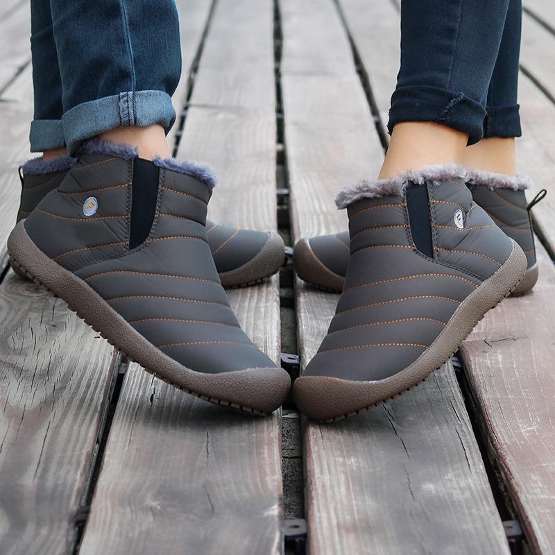 2021加绒加厚保暖老北京布鞋男棉鞋加厚大棉雪地靴户外大码棉鞋男