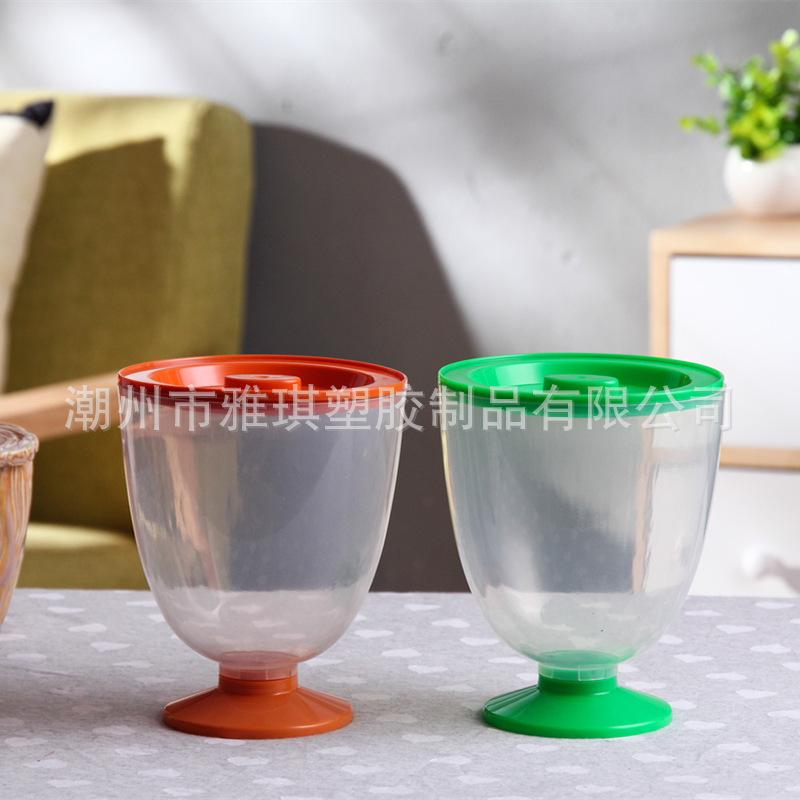 瑞士糖巧克力糖果包装桶 果冻玩具PP塑料杯