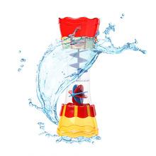 儿童洗澡玩具戏水杯/旋转舀水戏水筒 戏水玩具 水流观测杯cikoo
