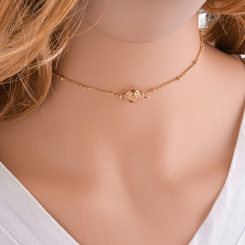 other coppernecklace (Gold)NHYT0352-Gold