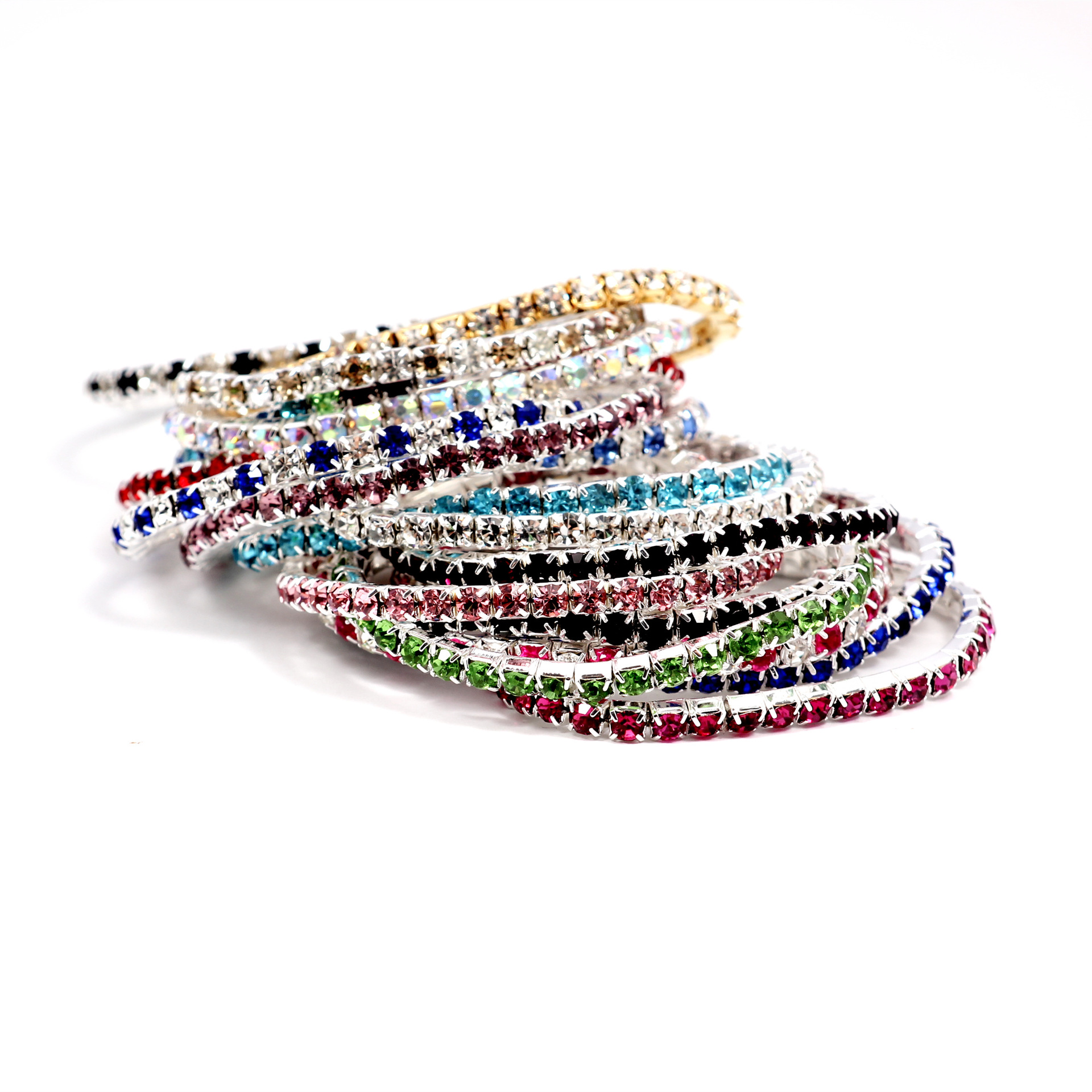 Simple crystalBracelet (Mix 20 - k9)NHIM0819-Mix 20 - k9