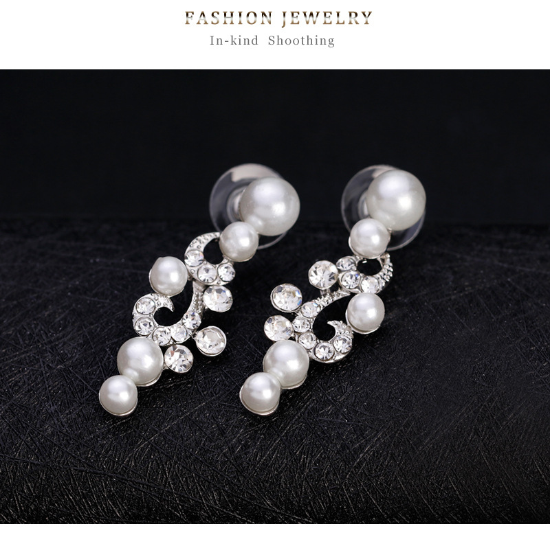 Fashion Alloy plating earring  (Alloy)  NHDR2362-Alloy