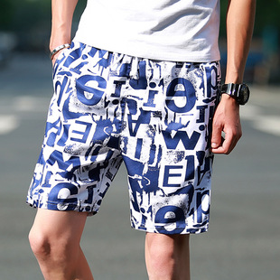 Manufacturers wholesale men's beach pants men summer large size pants stall supermarket running rivers and lakes qui