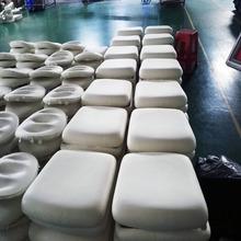 來圖來樣訂做PU發泡海綿坐墊 背墊生產廠家 慢回彈海綿