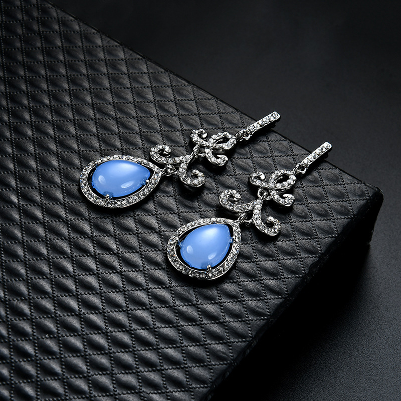 Occident and the United States alloy plating earring (61179392)NHLP0818-61179392