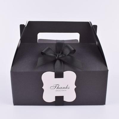 简单风格6*6cm烘焙空白挂牌唛头定做手工产品卡包装卡片现货
