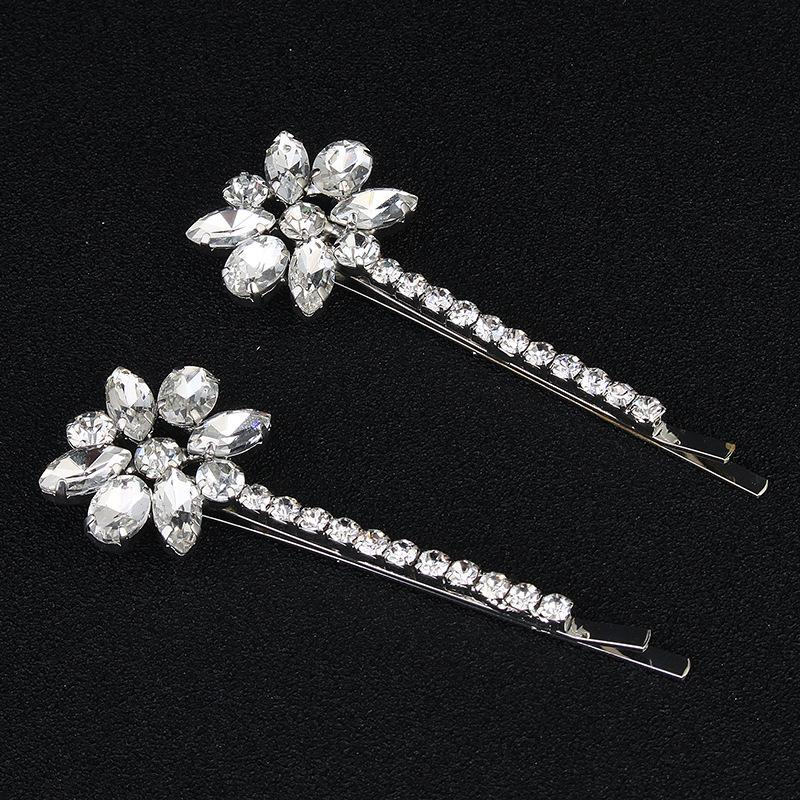 Alloy Fashion Flowers Hair accessories  (white) NHHS0269-white