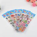 儿童卡通贴纸 pvc3d立体泡泡贴 幼儿园奖励贴 动漫小贴画可定制