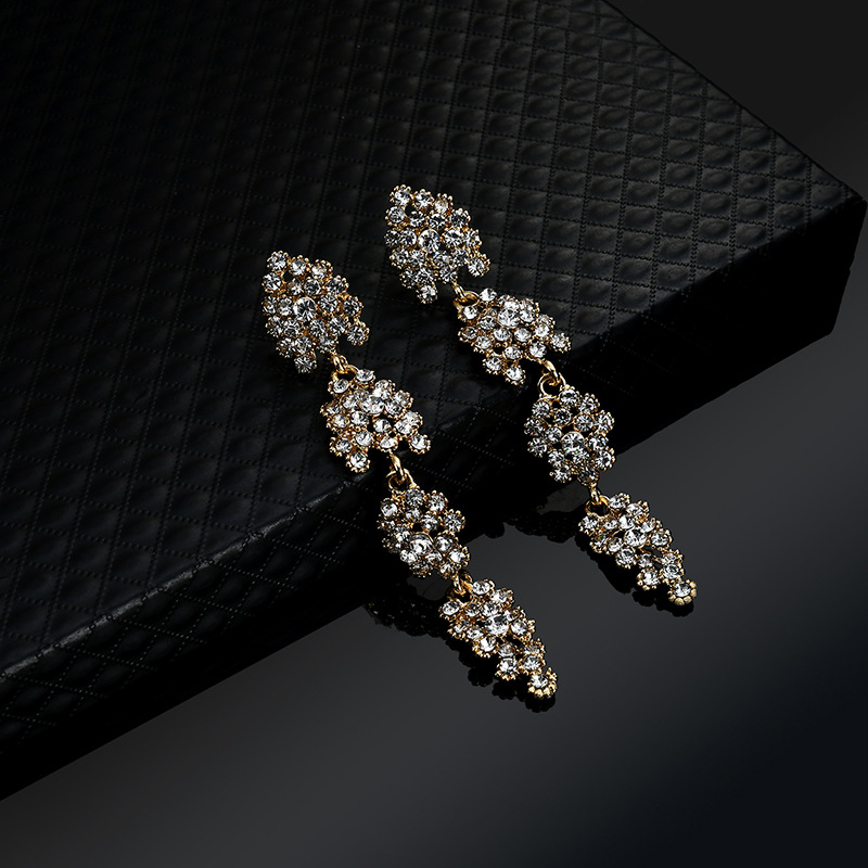 Occident and the United States alloy plating earring (61179399)NHLP0814-61179399