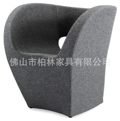 高级出口布艺休闲围椅外贸原单