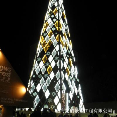 圣诞节商场酒店户外大型圣诞树圣诞美陈装饰景观工程