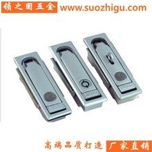 机械门锁平面锁MS104-3-1配电柜锁 变电箱自动售卖机长方锁