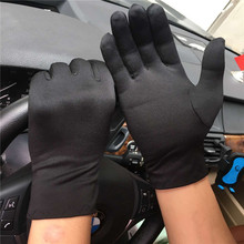 春秋季男士拉绒保暖手套开车防滑氨纶高弹力礼仪耐磨透气厂家批发