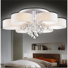 現代簡約客廳燈大氣水晶吊燈溫馨臥室吸頂燈LED餐廳燈具