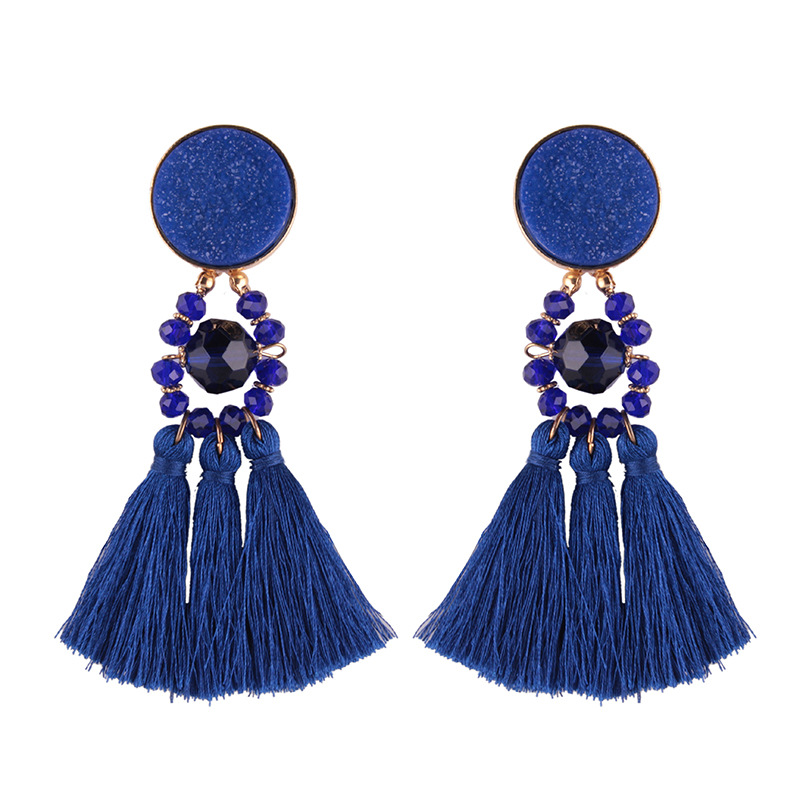 Occident and the United States Acrylicearring (Red wine)NHJQ9320-Red wine
