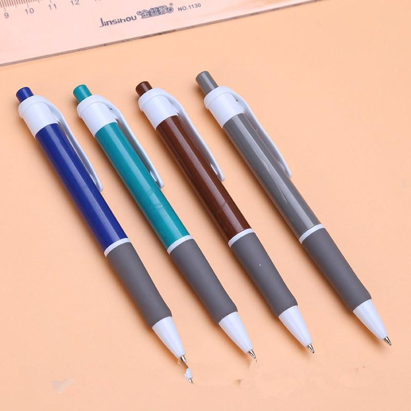 廣告筆圓珠筆中性筆可以印刷logo禮品筆按動圓珠筆油性筆磨砂筆