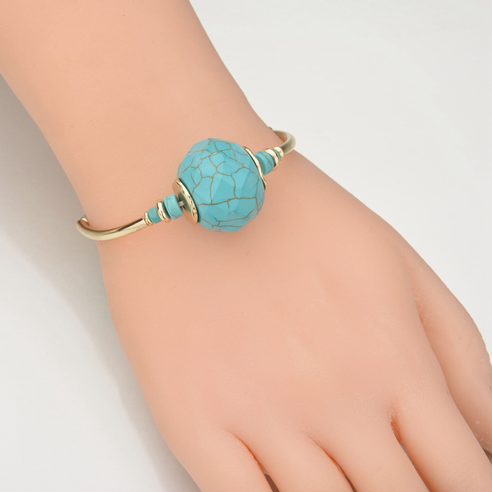 Occident and the United States Turquoisebracelet (blue)NHBQ0965-blue