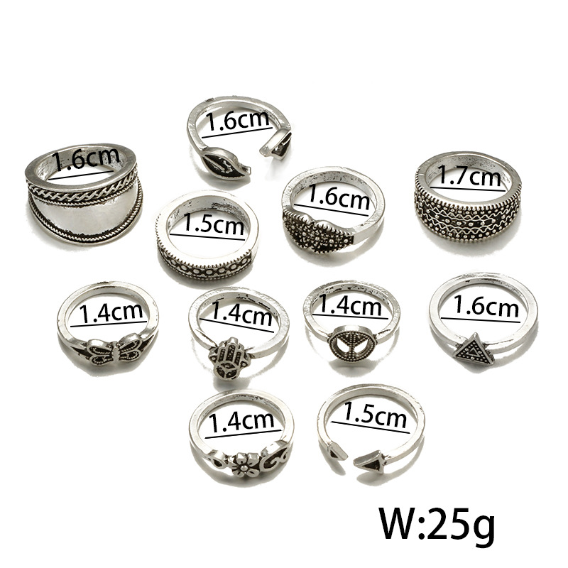 folk-custom alloy plating Jewelry Sets (Photo Color)NHGY0675-Photo Color