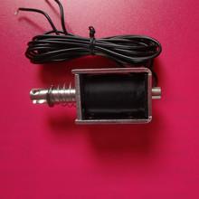 微型直流推拉式电磁铁1040T 12V24VDC贯通式电磁铁