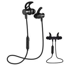 无线运动蓝牙耳机入耳式立体声重低音兼容苹果安卓vivo磁吸耳机