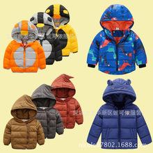 冬季新款童裝棉衣兒童羽絨棉服外套韓版加厚棉襖地攤貨源便宜批發