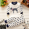 The new spring children's long johns suit cotton baby underwear Home Furnishing two piece suit on behalf of a wholesale