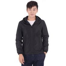 廠家直銷戶外風衣情侶親子薄款雙層外套男士大碼夾克