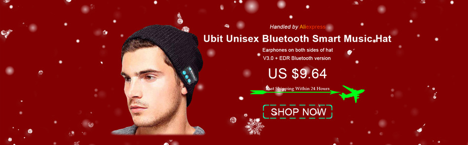 Ubit BT008 Bluetooth Headphone With FM Radio /AUX/TF Card MP3 Sports Magic Headband Wireless Headset Earphone for Smartphone