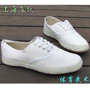 上海大孚飞跃田径鞋男女帆布鞋学生跑步鞋体育考试晨练武术鞋批发