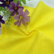 现货32s麻棉竹节单面汗布 针织纯棉布料 t恤面料