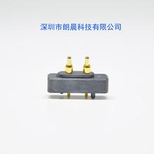 廠家直銷 2PIN 4.0間距 pogopin 移動電源 充電寶充電彈簧針 頂針