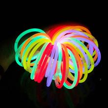 酒吧KTV助威道具化学荧光棒一次性液体银光棒送转接头DIY荧光棒