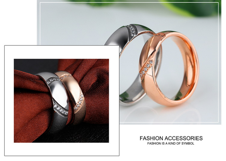 Titanium&Stainless Steel Fashion Geometric Ring(Male 7) NHOP2426-Male 7