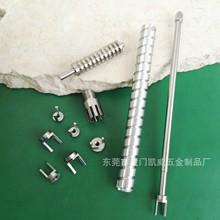 蜗杆加工专业定制非标蜗杆轴件车铣复合加工微型蜗杆