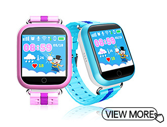Kid's Smart GPS Watch With Early Learning