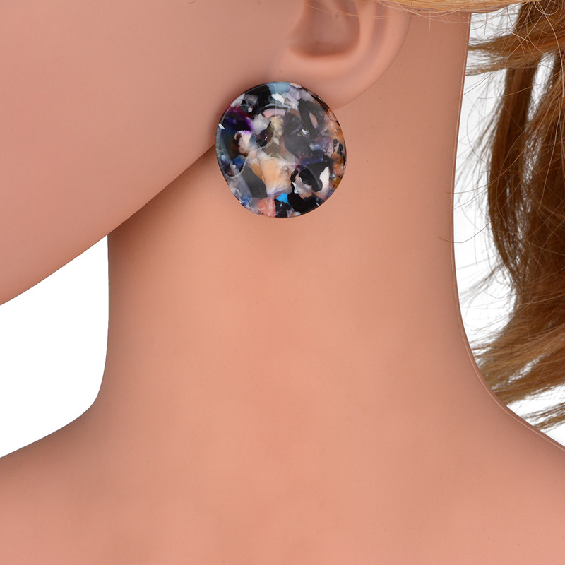 Geometric type Acrylicearring (color)NHWF2922-color