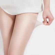 春夏季薄款包芯丝加档连裤袜防勾丝女士黑肉色隐形丝袜性感打底袜