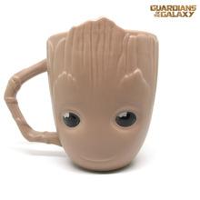 银河守卫队树人杯陶瓷马克杯 小树人杯 数日造型杯子