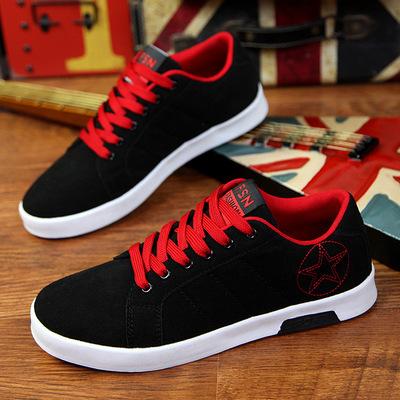 Mùa xuân giày thoáng khí của nam giới giày thể thao Hàn Quốc thanh niên giày thủy triều trượt giày thấp thanh niên giày của nam giới