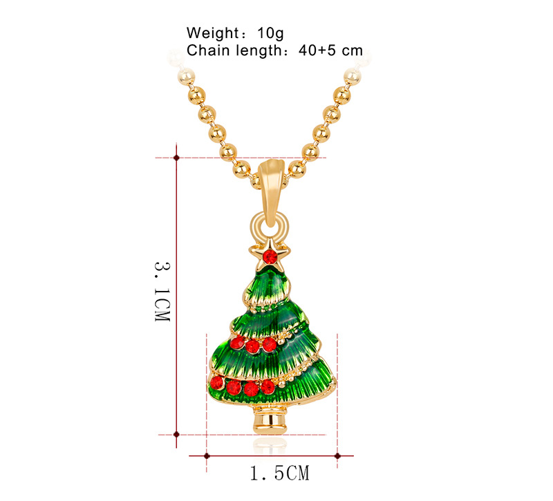Korea style alloy plating necklace (CA155-A)NHDR1961-CA155-A